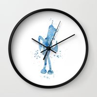 bender Wall Clocks featuring Bender  by Carma Zoe