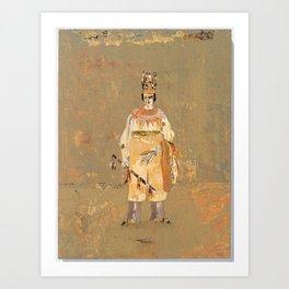 chieftain 2 Art Print