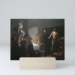 François Salle - The Anatomy Class at the École des Beaux-Arts Mini Art Print