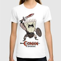 conan T-shirts featuring Conan The Bavarian by Bobby Baxter