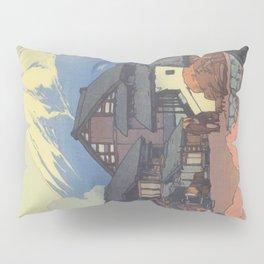 Hiroshi Yoshida, Artworks, Mt Fuji, Original Japanese Woodblock Print, Landscape Pillow Sham