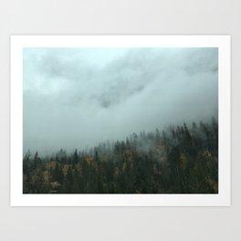 Forest Energy Art Print