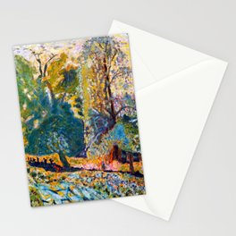 Pierre Bonnard Landscape in Normandy Stationery Cards