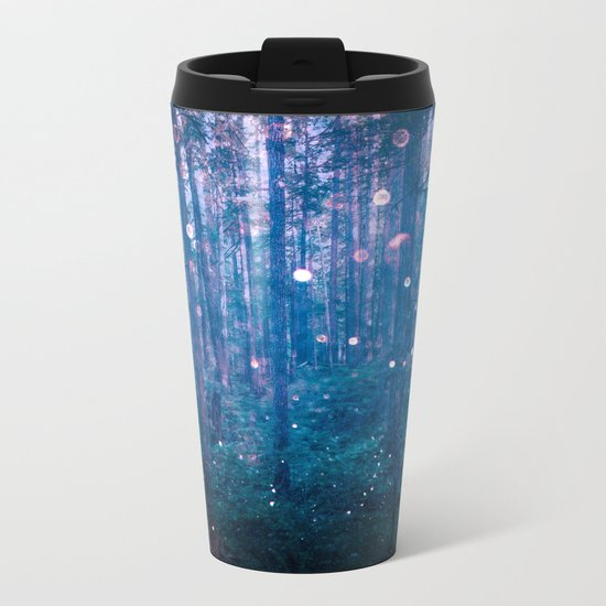 Fairy Lights Metal Travel Mug