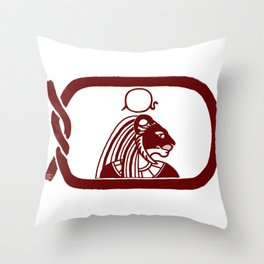 Sekhmet Throw Pillow