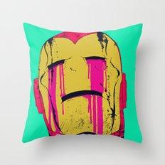 Smack! Throw Pillow