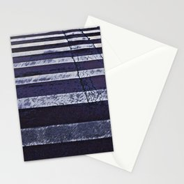Crosswalk- path to success concept Stationery Cards