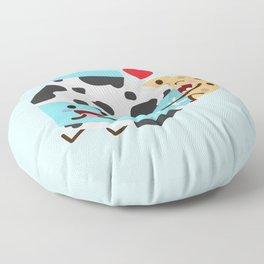 Milk and Cookie Floor Pillow
