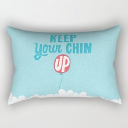 Keep Your Chin Up Rectangular Pillow