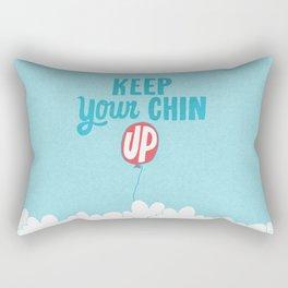 Keep Your Chin Up Rectangular Pillow