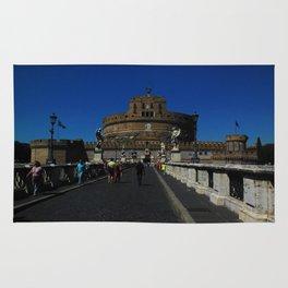 Castel Sant'Angelo, Rome, Italy Rug