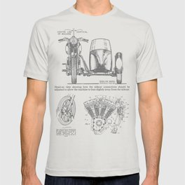 Motorcycle with Sidecar T-shirt
