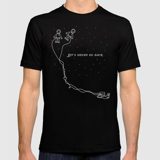 Let's Never Go Back T-shirt by Safwat Saleem | Society6