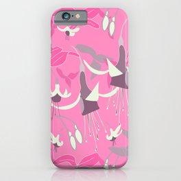 Fuchsia Pink. iPhone Case