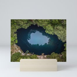 Melissani Cave - Kefalonia,Greece Mini Art Print