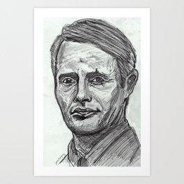 Le Chiffre Art Print