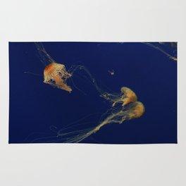 Jellyfish through the Sea Rug