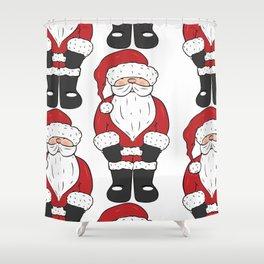 Santa, father Christmas art Shower Curtain