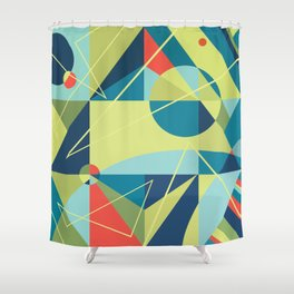 Without Any Address Shower Curtain