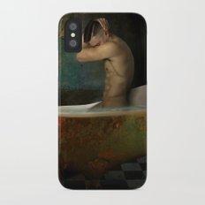 male nude iPhone X Slim Case