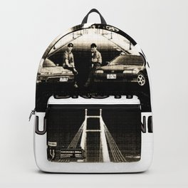 Two Brothers True Friends - by HS Design Backpack