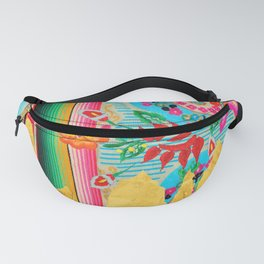 Gold Dipped Boho Serape Dream Fanny Pack
