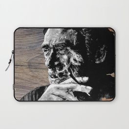 Hank on wood Laptop Sleeve