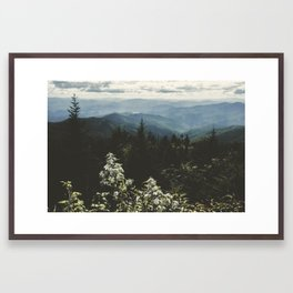 Smoky Mountains - Nature Photography Framed Art Print