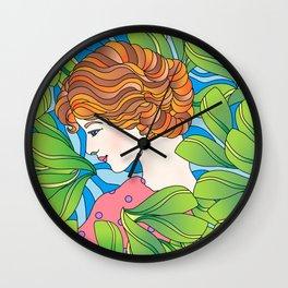 Beauty Surrounds Us Wall Clock
