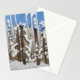Winter in Canada Stationery Cards