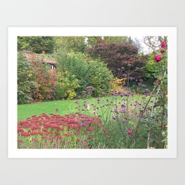 English Summer Art Print