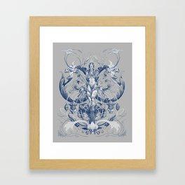 Queen of Trust Framed Art Print