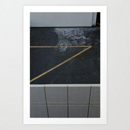 Parking Gazes Art Print