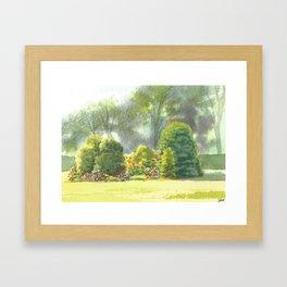 Briars, Front Garden Framed Art Print
