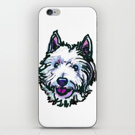 The Westie Dog Love of my Life iPhone Skin