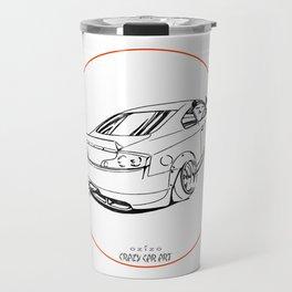 Crazy Car Art 0221 Travel Mug