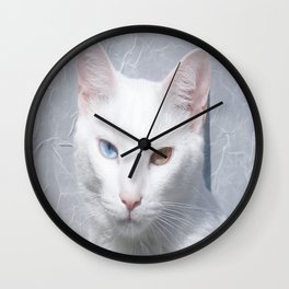 le chat Wall Clock