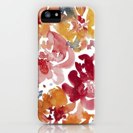 Blooming in the Fall iPhone Case