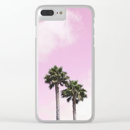 Cotton Candy Affair Clear iPhone Case