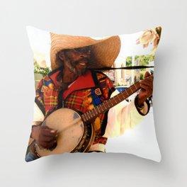 jamaica singer Throw Pillow
