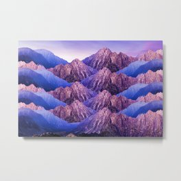 The Mountains of my Heart Metal Print