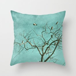 I'm out Throw Pillow