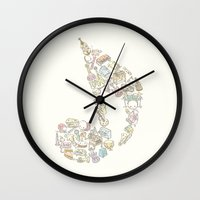 sound Wall Clocks featuring sound by yumi tashiro