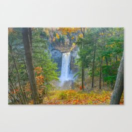 Taughannock From the Rim Canvas Print