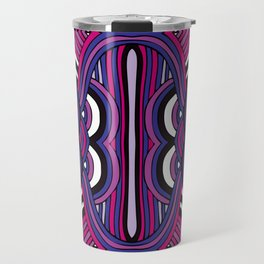 Pattern 7 from NUVEAU: The Future of Patterns Coloring Book Travel Mug