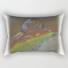 Fishwoman Rectangular Pillow