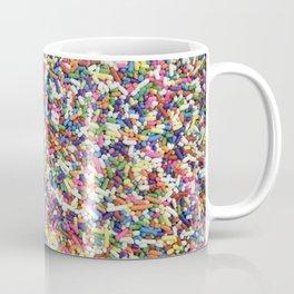 Rainbow Candy Dessert Sprinkles Coffee Mug