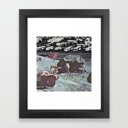 Domestic Beings Framed Art Print