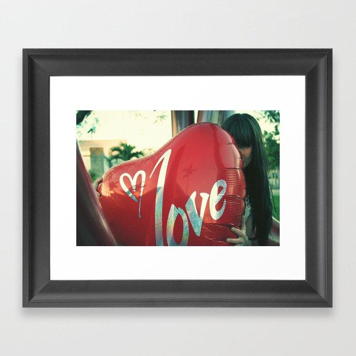 I love you 2 Framed Art Print