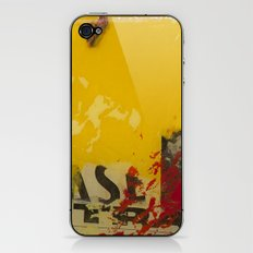 YELLOW3 iPhone & iPod Skin